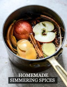 Learn how to make your house smell amazing during the holidays with these Homemade Simmering Spices.