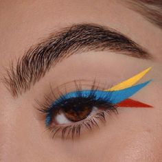 art hoe aesthetic makeup Back to basics: Primary colors edition.