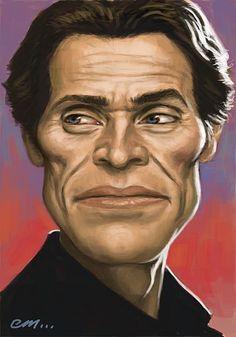 [ Willem Dafoe ]   - artist: Euan Mactavish - website: http://paper-pencil-pixels.blogspot.com/