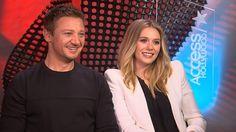 'Captain America: Civil War': Jeremy Renner & Elizabeth Olsen On Filming The Big Airport Scene