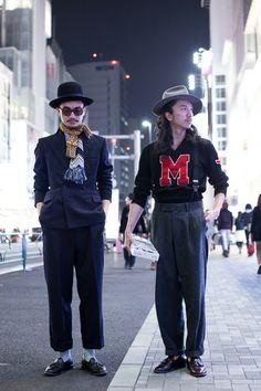 ストリートスナップ [岡本 允/岡本 竜] | used, vintage, ヴィンテージ, 古着 | 原宿 | Fashionsnap.com