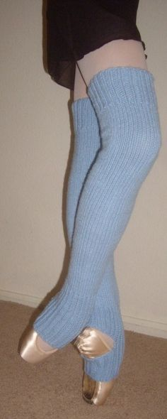 Perfecr beginner legwarmer pattern