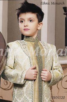 Online Store For Mens Kids Ethnic Sherwani, Breeches,Jodhpuri Suits Kids Party Wear Dresses, Wedding Dresses For Kids, Kids Wear Boys, Kids Clothes Boys, Sherwani, Boys Kurta Design, Kids Ethnic Wear, Kids Suits, Little Boy Outfits