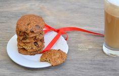 Μαλακά cookies βρώμης με ξερά φρούτα και σοκολάτα - cretangastronomy.gr Cookies, Recipies, Muffin, Cooking Recipes, Breakfast, Food, Crack Crackers, Recipes, Morning Coffee