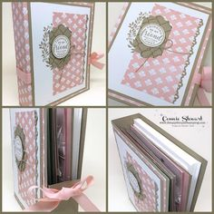 Greeting Card Gift Box - Perfect for giving your beautiful hand stamped cards! www.SimplySimpleStamping.com and look for the December 20, 2017 post!