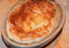 Chicken Pie - Great Leftovers recipe for chicken or turkey leftovers from a roast dinner!