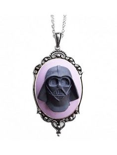 Darth Vader Cameo Necklace by Couture By Lolita
