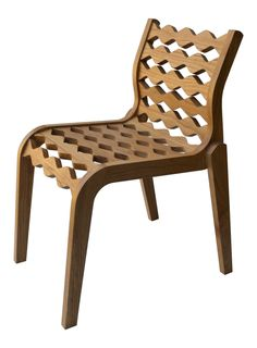 Awesome chair design made with CNC technology   #cnc #chairs   http://cnc.gallery/