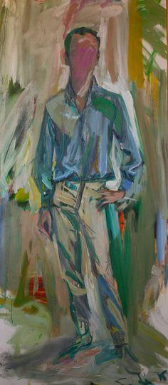 FRANK O'HARA by Elaine de Kooning, 1962