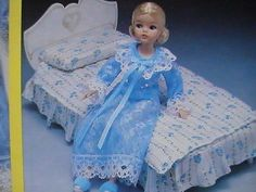 NOS Sindy Bed Doll Playtime Marx Toys Vintage barbie Slumber Time Set #1222