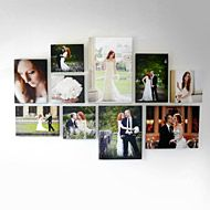 Really cool-  this company has predesigned templates for all kinds of gallery wall styles- you pick what layout you want and then upload your photos- Canvas On Demand