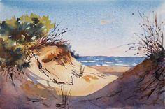"""""""Dunes"""" - Original Fine Art for Sale - © Fernando Pena"""