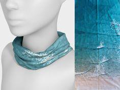 Waves – u can wear it Tube Scarf, Artwork Prints, Wearable Art, Moisturizer, Waves, Product Description, Unisex, Canning, Fabric