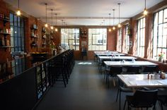 J+A Café   Clerkenwell, London   J+A Café is hidden at the back of one of those timeless, labyrinthine east London yards. Simple and unpretentious, the room has an old-fashioned warm and rustic feel