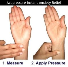 Instant anxiety relief