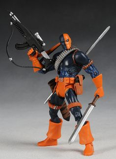DC Universe series 3 action figures - Deathstroke