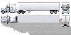 Vetor · comerciais · caminhao · grupos · fácil · volta - ilustração de vetor © mechanik (#1173087)   Stockfresh