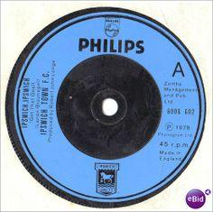 "Ipswich Town F.C. - Ipswich, Ipswich - 1979 - 7"" Vinyl single 6006 602 on eBid United Kingdom"