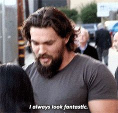 Jason Momoa Aquaman, Jason Momoa Gif, Jason Statham, Lisa Bonet, Khal Drogo, Iowa, Matthew Mcconaughey, Bad Hair Day, Actor
