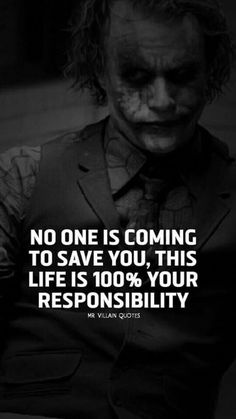 a kid simply BORN into the top wealthiest country in the world. People have Already fought and worked to give him the spoiled life he lives today. Joker Qoutes, Best Joker Quotes, Badass Quotes, True Quotes, Great Quotes, Motivational Quotes, Inspirational Quotes, Funny Quotes, Quotes By Famous People