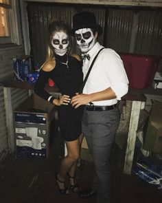 Skeleton Couple Costumes