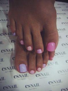 2014 nail polish #pedicure #pastelssss