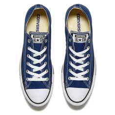 99c28b71c865 Converse Unisex Chuck Taylor All Star Ox Trainers - Roadtrip Blue White  Black