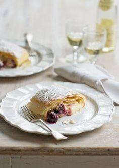 Cherry cream cheese strudel Murdoch Recipe Article Lead - narrow