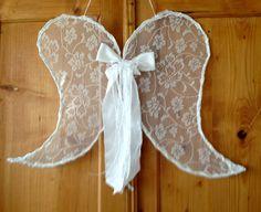 Flügel Spitze Shabby von einfachschön! auf DaWanda.com