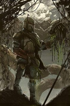 Boba Fett... Bounty Collected