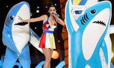 Katy Perry reveals a special 'left shark' phone case