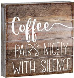 Coffee Pairs Nicely