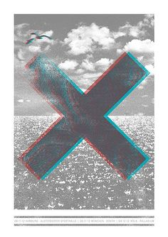 The xx 40 Awesome Concert Posters Band Posters, Cool Posters, Vinyl Cover, Art Graphique, Graphic Design Posters, Shows, Concert Posters, Good Music, Music Music