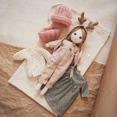 """Набор """"Олененок"""" 4000р. #lerusha #doll"""