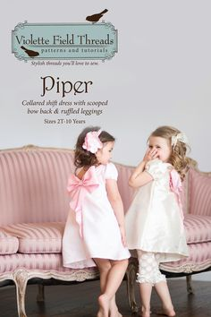 Piper Dress Sewing Pattern | Violette Field Threads