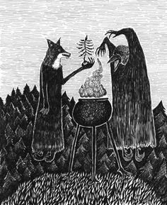 Fuck Yeah Paganism  Bill Crisafi - Atop the Brocken