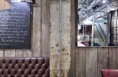 The Walls. #restaurant #fixtures #fittings