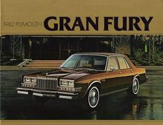 1982 Plymouth Gran Fury Four Door Sedan Old American Cars, American Classic Cars, Cars Usa, Us Cars, Retro Cars, Vintage Cars, Plymouth Cars, Ford, Dodge Chrysler