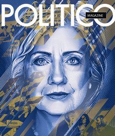 Politico Magazine: 2016 DNC Cover on Behance