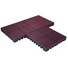 PlayFall Playground Terra Cotta 2.5-inch Safety Surfacing (20 sq. ft)