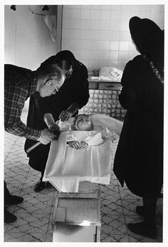 Durango Colony. 1998. Durango. Mennonites. deceased baby-boy was prepared for his funeral