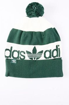 adidas bobble hat green  c8690f3abc0