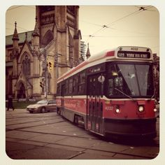 Toronto, with a street car named desire Toronto Street, Art Toronto, Western U, Places To Travel, Places To Go, Immigration Canada, Toronto Ontario Canada, Best Cities, Places Ive Been
