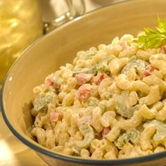 Classic Macaroni Salad with Light Mayonnaise | MyRecipes.com