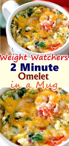 2 MINUTE OMELET IN A MUG come with 7 weight watchers smart points Recipes diet weight watchers omelet in a mug Mug Recipes, Diet Recipes, Cooking Recipes, Healthy Recipes, Microwave Recipes, Easy Cooking, Cooking Ideas, Smoothie Recipes, Smoothies