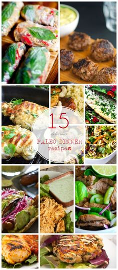 Click Pic for 26 Quick and Easy Paleo Dinner Recipes | Delicious Paleo Dinner Ideas for Kids