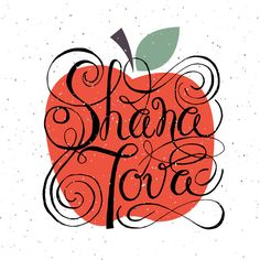 Shana Tova Card Template by Alps View Art on Creative Market Rosh Hashanah Greetings, Happy Rosh Hashanah, Rosh Hashanah Cards, Jewish Greetings, Funny Greetings, New Year Greeting Cards, New Year Card, Happy Sukkot, Postcard Template