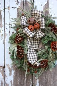 Shabby in love: Pinecone decoration for Christmas
