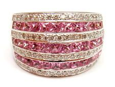 LeVian Ring: Pink Sapphire, Diamonds set in rose gold.   Love this
