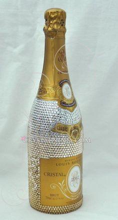 Swarovski bubble champagne